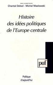 Hist des idees polit.de l'euro.centr - Intérieur - Format classique