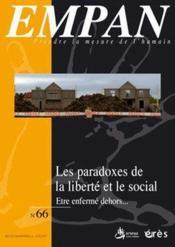 Revue Empan N.66 ; Les Paradoxes De La Liberté - Couverture - Format classique