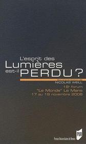 Esprit Des Lumieres Est-Il Perdu ? - Intérieur - Format classique