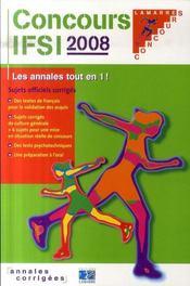 Concours IFSI (édition 2008) - Intérieur - Format classique