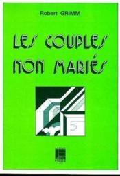 Couples Non Maries - Couverture - Format classique