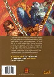 La Voie Du Heros T.3 - 4ème de couverture - Format classique