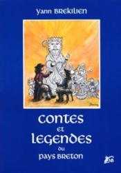 Contes et legendes du pays breton - Couverture - Format classique