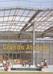 Les grands ateliers, enseigner, expérimenter - Couverture - Format classique