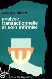 Analyse transactionnelle et soins infirmiers - Couverture - Format classique