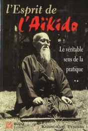 L'Esprit De L'Aikido - Intérieur - Format classique