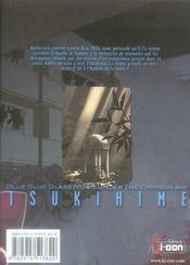 Tsukihime T05 - 4ème de couverture - Format classique