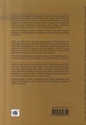 La bd dans la ville - 4ème de couverture - Format classique