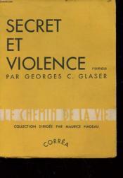Secret Et Violence - Couverture - Format classique