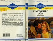L'Impossible Defi - Impulsive Gamble - Couverture - Format classique
