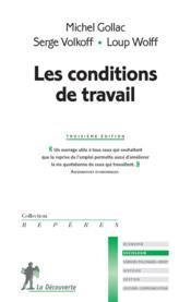 Les conditions de travail - Couverture - Format classique