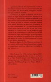 Le fils d'Etienne - 4ème de couverture - Format classique