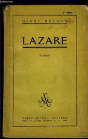 Lazare - Couverture - Format classique