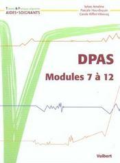 Dpas-dpap t.2 ; modules 7 a 12 des diplomes d'aide-soignant ; 2e edition - Intérieur - Format classique
