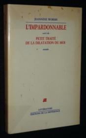 Impardonnable (l') - Couverture - Format classique