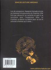 Crying Freeman T.3 - 4ème de couverture - Format classique
