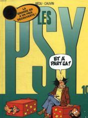 Les Psy T.10 ; Et A Part Ca - Couverture - Format classique