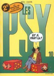 Les Psy T.10 ; Et A Part Ca - Intérieur - Format classique