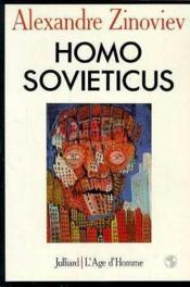 Homo Sovieticus - Couverture - Format classique