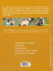 Cane corso (le) - 4ème de couverture - Format classique