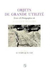 Objets De Grande Utilite - Couverture - Format classique