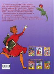 Lili t.3 ; Lili et le fakir - 4ème de couverture - Format classique