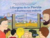 Liturgies De La Parole Adaptees - Couverture - Format classique