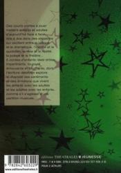 Contes d'enfants réels - 4ème de couverture - Format classique