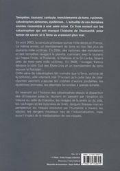 Petite encyclopédie des grandes catastrophes - 4ème de couverture - Format classique