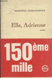 Elle Adrienne. - Couverture - Format classique