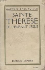 Sainte Therese. De Lenfant Jesus. - Couverture - Format classique