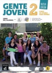 Gente joven 2 int livre eleve nouvelle edition - Couverture - Format classique