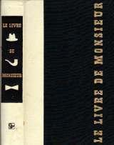 Le Livre de Monsieur. - Couverture - Format classique