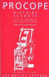 Histoire secrete - Intérieur - Format classique