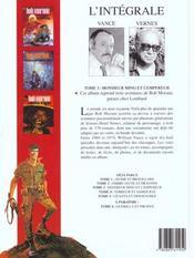Bob Morane ; intégrale t.3 ; monsieur Ming et l'empereur - 4ème de couverture - Format classique