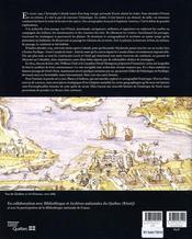 Mesure d'un continent ; atlas historique de l'Amérique du Nord, 1492-1814 - 4ème de couverture - Format classique