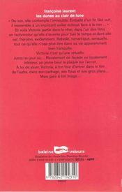 Les Dunes Au Clair De Lune - 4ème de couverture - Format classique