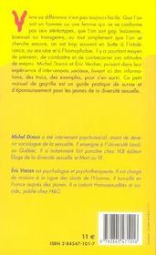 Petit Manuel De Gayrilla A L'Usage Des Jeunes Ou Comment Lutter Contre L'Homophobie Au Quotidien - 4ème de couverture - Format classique