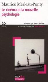 Le cinéma et la nouvelle psychologie - Couverture - Format classique