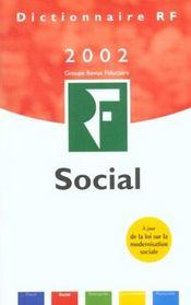 Dictionnaire Social 2002 ; 21e Edition - Intérieur - Format classique