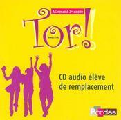 TOR ; tor ; allemand ; 1ère année ; niveau a1 a2 - Intérieur - Format classique
