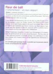 Fleur De Lait L Allaitement Anna Rousseaux De Leo Acheter