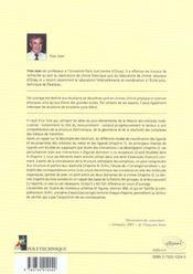 Orbitales Moleculaires Dans Les Complexes Cours Et Exercices Corriges - 4ème de couverture - Format classique
