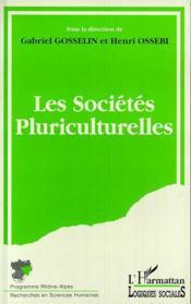 Les sociétés pluriculturelles - Couverture - Format classique