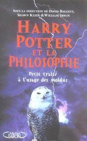 Harry Potter et la philosophie ; petit traité à l'usage des moldus - Intérieur - Format classique