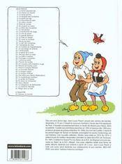 Sylvain et Sylvette t.6 ; la chaumière en péril - 4ème de couverture - Format classique