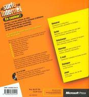 Je Surf Sur Internet - 4ème de couverture - Format classique