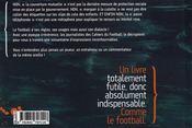 À partir de la... ; anthologie lexicale du football - 4ème de couverture - Format classique