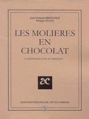 Les molieres en chocolat - Couverture - Format classique