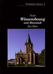 Stadtwissembourg (bas-rhin) - Couverture - Format classique